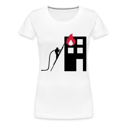 Sapeurs-pompiers - T-shirt Premium Femme