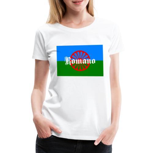 Flag of the Romanilenny people svg - Premium-T-shirt dam