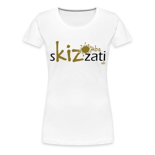 Top classico sKizzati Kizomba Donna verde fluo - Maglietta Premium da donna