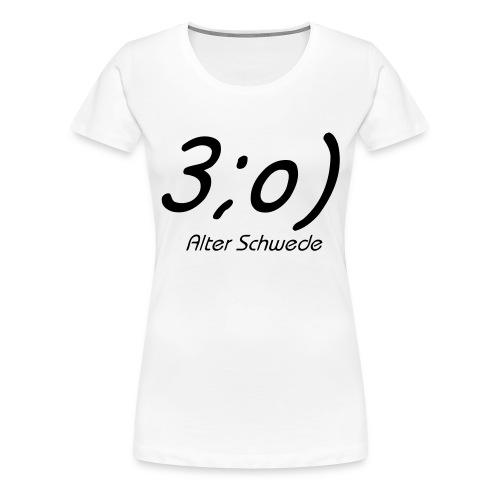 Elch Smiley - Frauen Premium T-Shirt