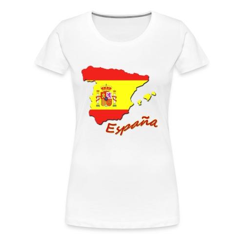 espana flag - Women's Premium T-Shirt
