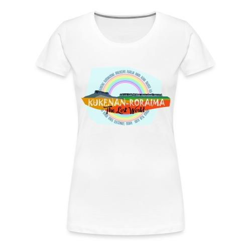 Roraima and Kukenan, The Lost World - Camiseta premium mujer