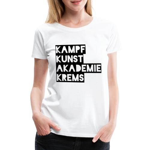 KKA 2016 lifestyle back2 - Frauen Premium T-Shirt