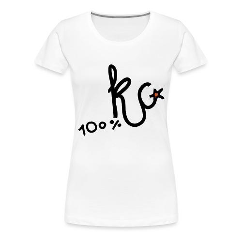 100%KC - Vrouwen Premium T-shirt