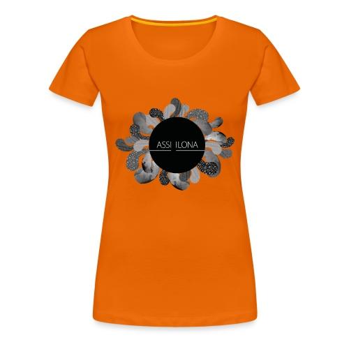Assi Ilona naisten t-paita - Naisten premium t-paita