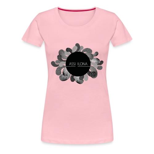 Assi Ilona lasten t-paita - Naisten premium t-paita