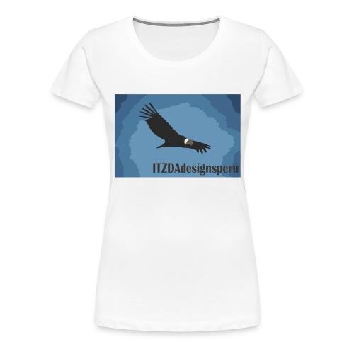 condor estilizado itzda - Camiseta premium mujer