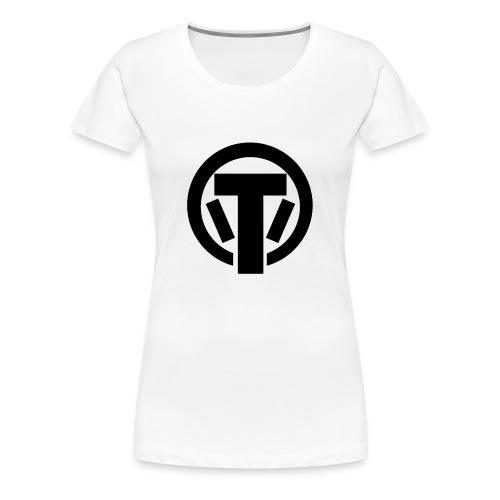 TaruHD schwarz - Frauen Premium T-Shirt