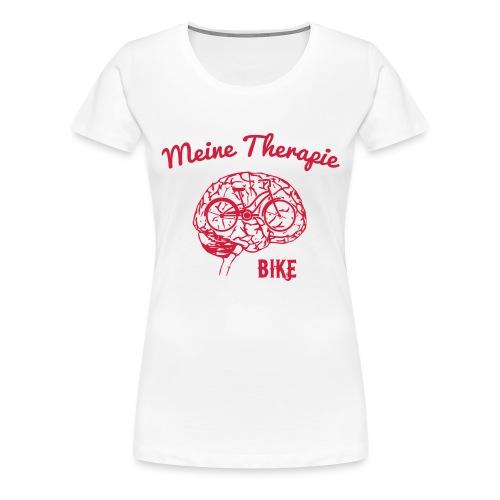 Meine Therapie: Bike - Frauen Premium T-Shirt