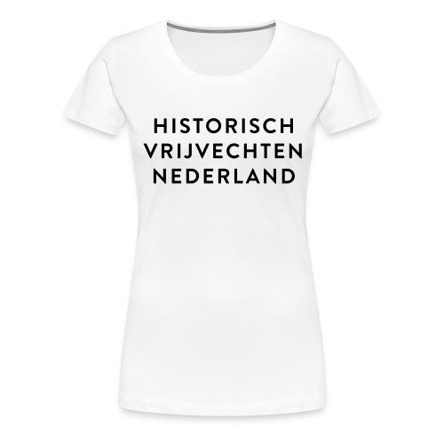 HVN_tekst - Vrouwen Premium T-shirt
