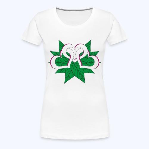 Herzblatt - Frauen Premium T-Shirt