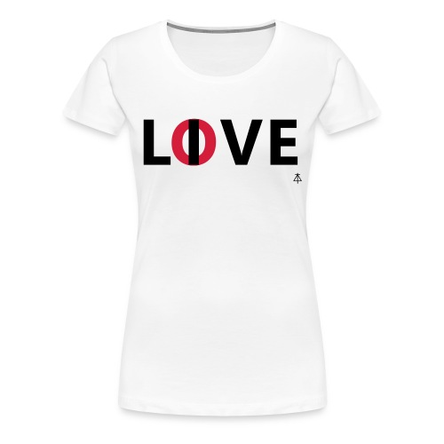 Love live - Vrouwen Premium T-shirt