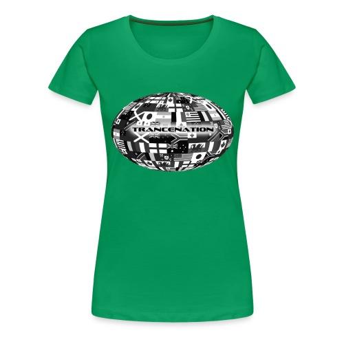 trancenation - Premium-T-shirt dam