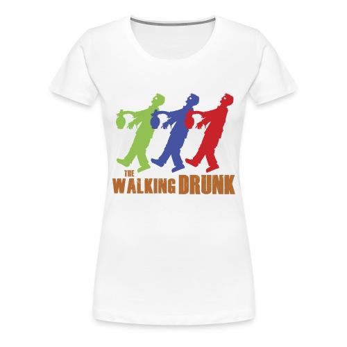 IoOdio ThaWalkinDrunk - Maglietta Premium da donna