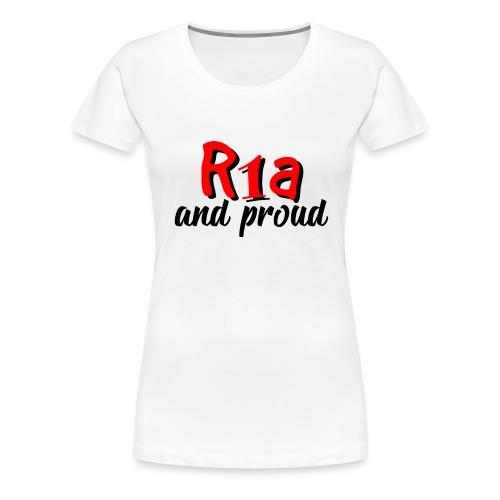 R1a and proud - Maglietta Premium da donna