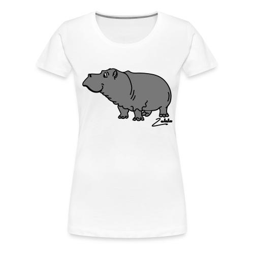 Hippo - Frauen Premium T-Shirt
