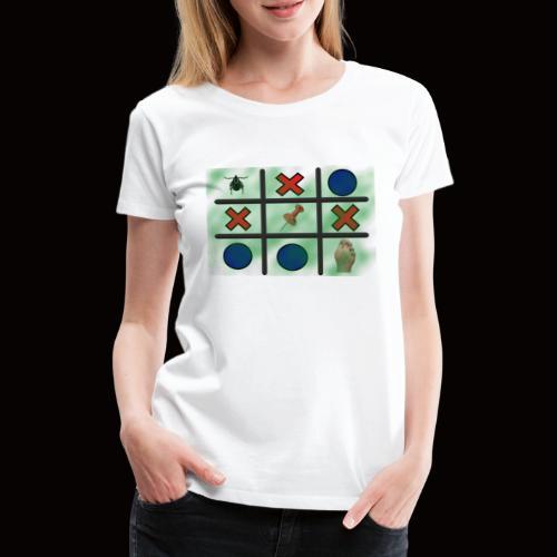 Tick, Tack, Toe (Joke Shirt) - Women's Premium T-Shirt
