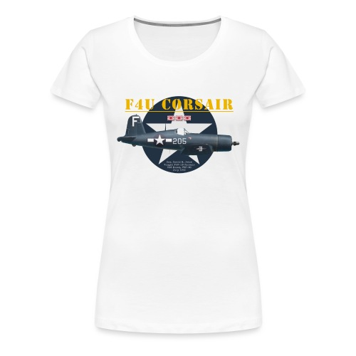 F4U Jeter VBF-83 - T-shirt Premium Femme