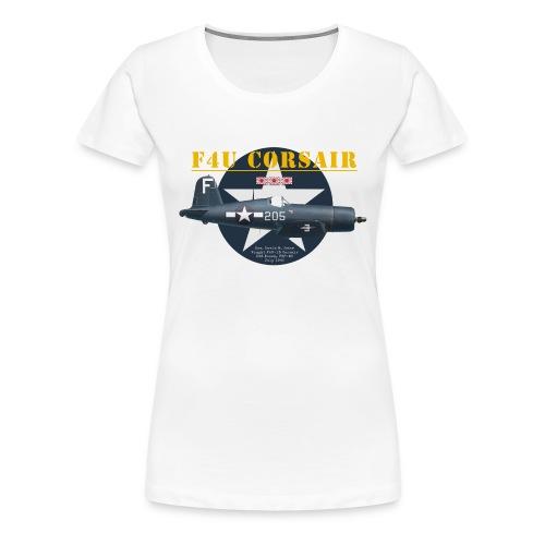 F4U Jeter VBF-83 - Women's Premium T-Shirt