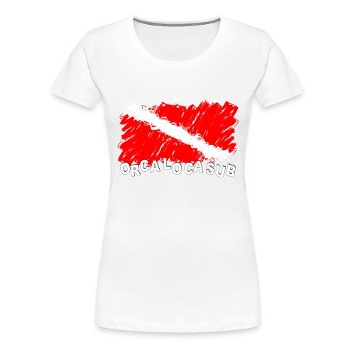 Bandiera Scuba - Maglietta Premium da donna