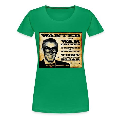 Wanted - Women's Premium T-Shirt