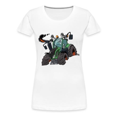 F 718Vario zonder kar - Vrouwen Premium T-shirt