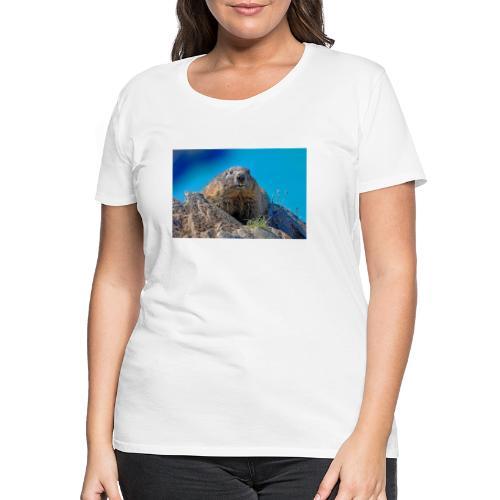Murmeltier - Frauen Premium T-Shirt