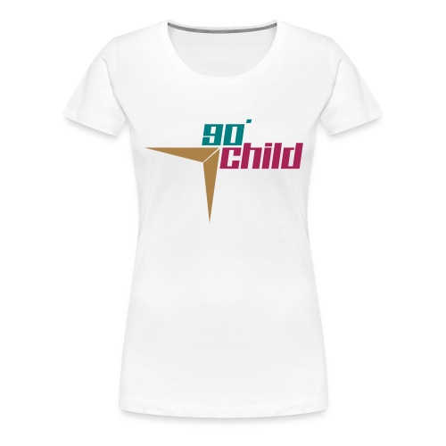 90er Kind - Frauen Premium T-Shirt