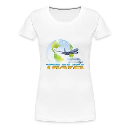 Maglietta TRAVEL - Maglietta Premium da donna