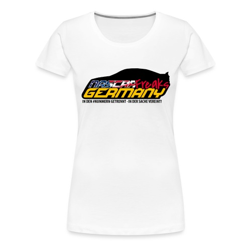 Nascar Freaks Germany - Frauen Premium T-Shirt