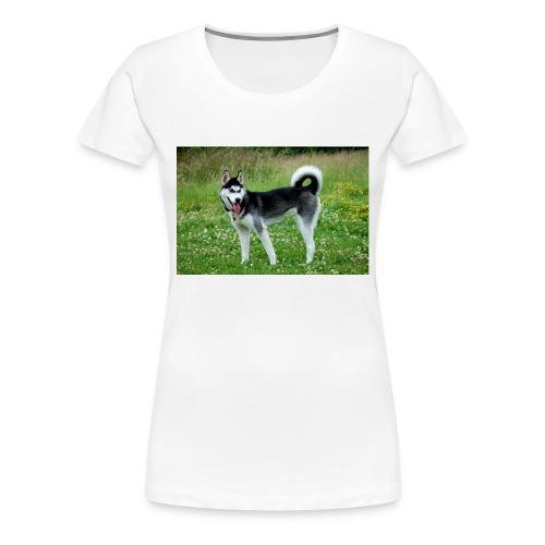 Mein Hund - Frauen Premium T-Shirt