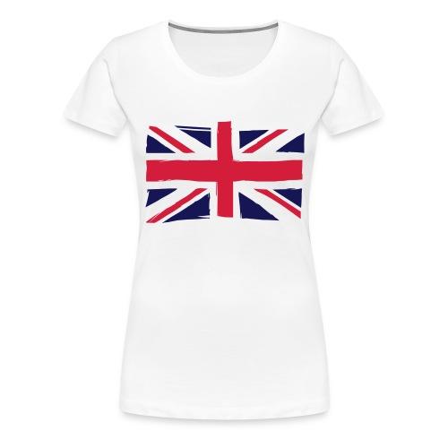 vlag engeland - Vrouwen Premium T-shirt