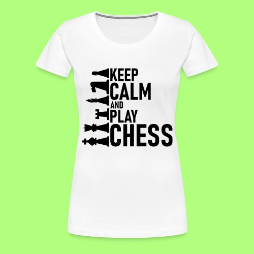 Schach - Frauen Premium T-Shirt