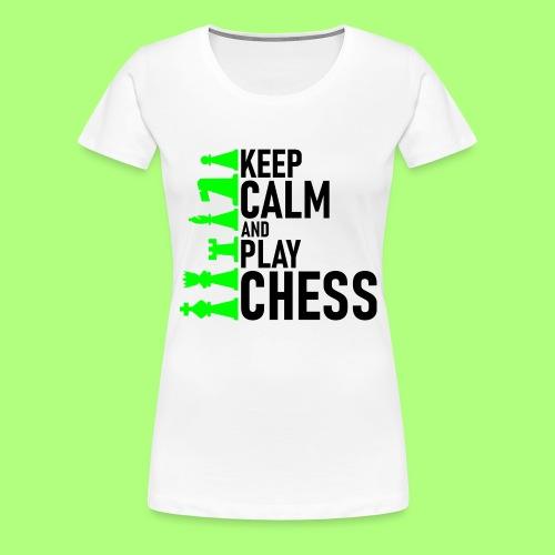 school chess shirt Spiel Schule - Frauen Premium T-Shirt