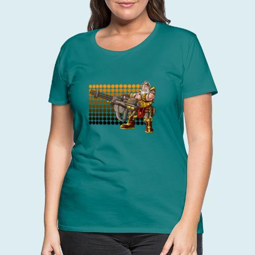 rage dwarf - Maglietta Premium da donna