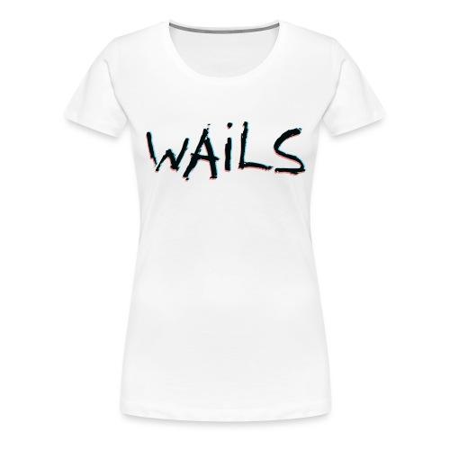 WAILS LOGO - Premium-T-shirt dam