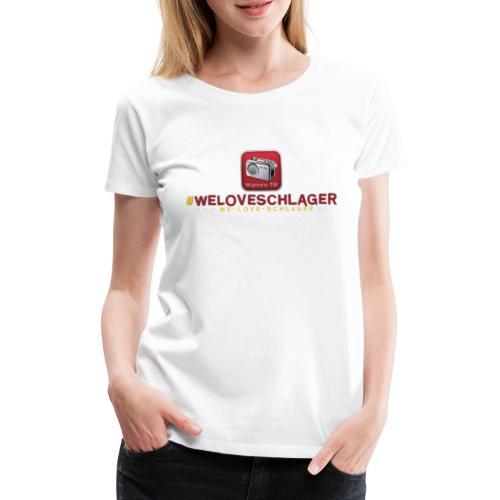 WeLoveSchlager de - Frauen Premium T-Shirt