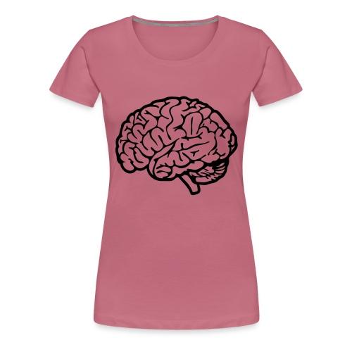 cerveau - T-shirt Premium Femme