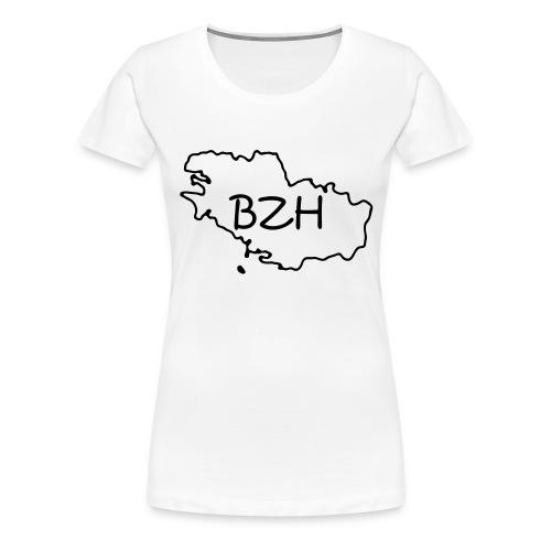 bretagne - T-shirt Premium Femme