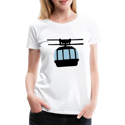 Gondel - Frauen Premium T-Shirt