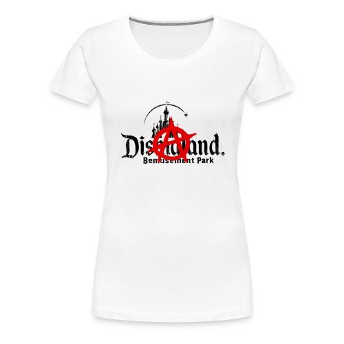 Anarchy ain't on sale(Dismaland unofficial gadget) - Women's Premium T-Shirt