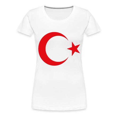 lphone 4/4S Turkey Case - Vrouwen Premium T-shirt