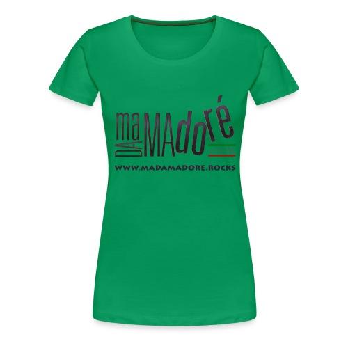 T-Shirt Premium - Donna - Logo Standard + Sito - Maglietta Premium da donna