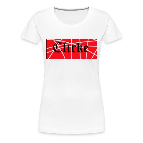 Clirke Linea de Ropa - Camiseta premium mujer