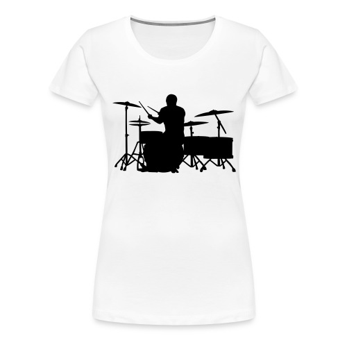 Glatze Drummer on Greater Set - Frauen Premium T-Shirt