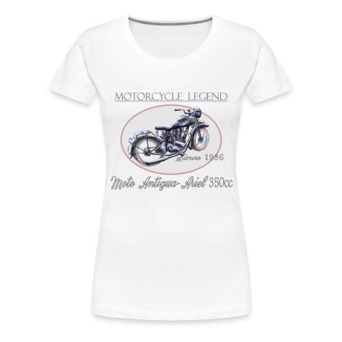 MOTO antigua ariel - T-shirt Premium Femme