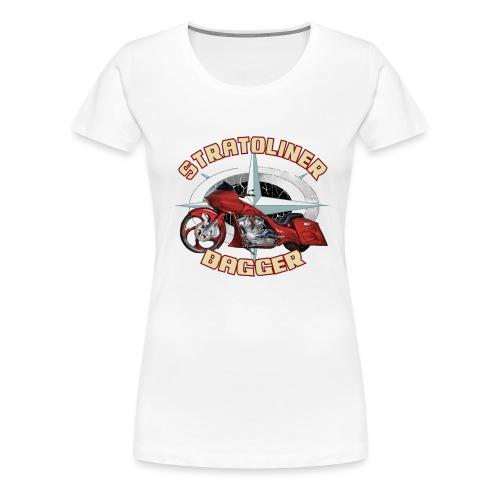 Stratoliner bagger 01 - Vrouwen Premium T-shirt