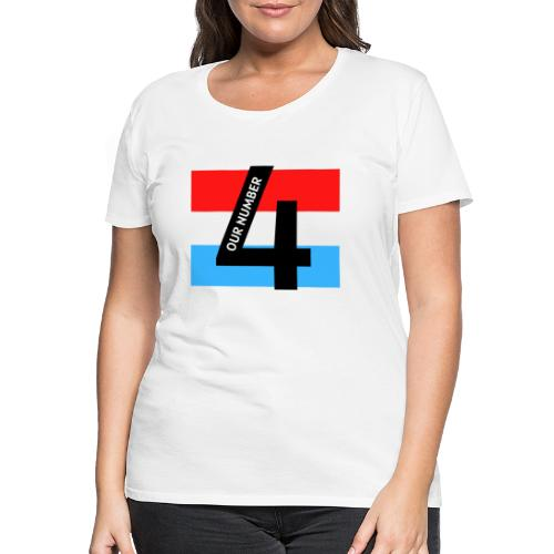 Our Number 4 Collection from The Trippers - Women's Premium T-Shirt