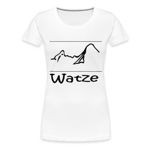 Watze - Frauen Premium T-Shirt