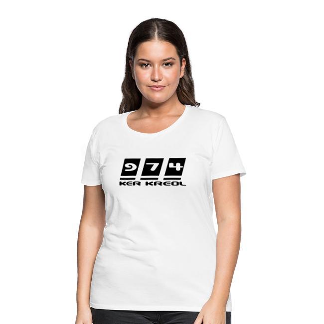 Logo écriture 974 Ker Kreol